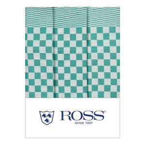 Ross Textilwerke, German Cotton Dish Towel, super absorbent, Green- Placewares