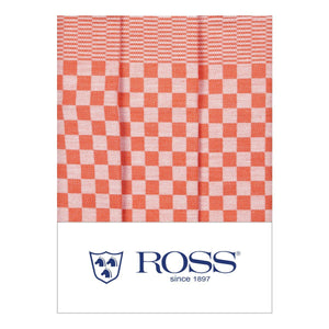 Ross Textilwerke, German Cotton Dish Towel, super absorbent, Orange- Placewares