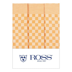 Ross Textilwerke, German Cotton Dish Towel, super absorbent, Yellow- Placewares