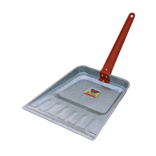 Bunbuku, Painted Steel Dustpan - Red, Red- Placewares