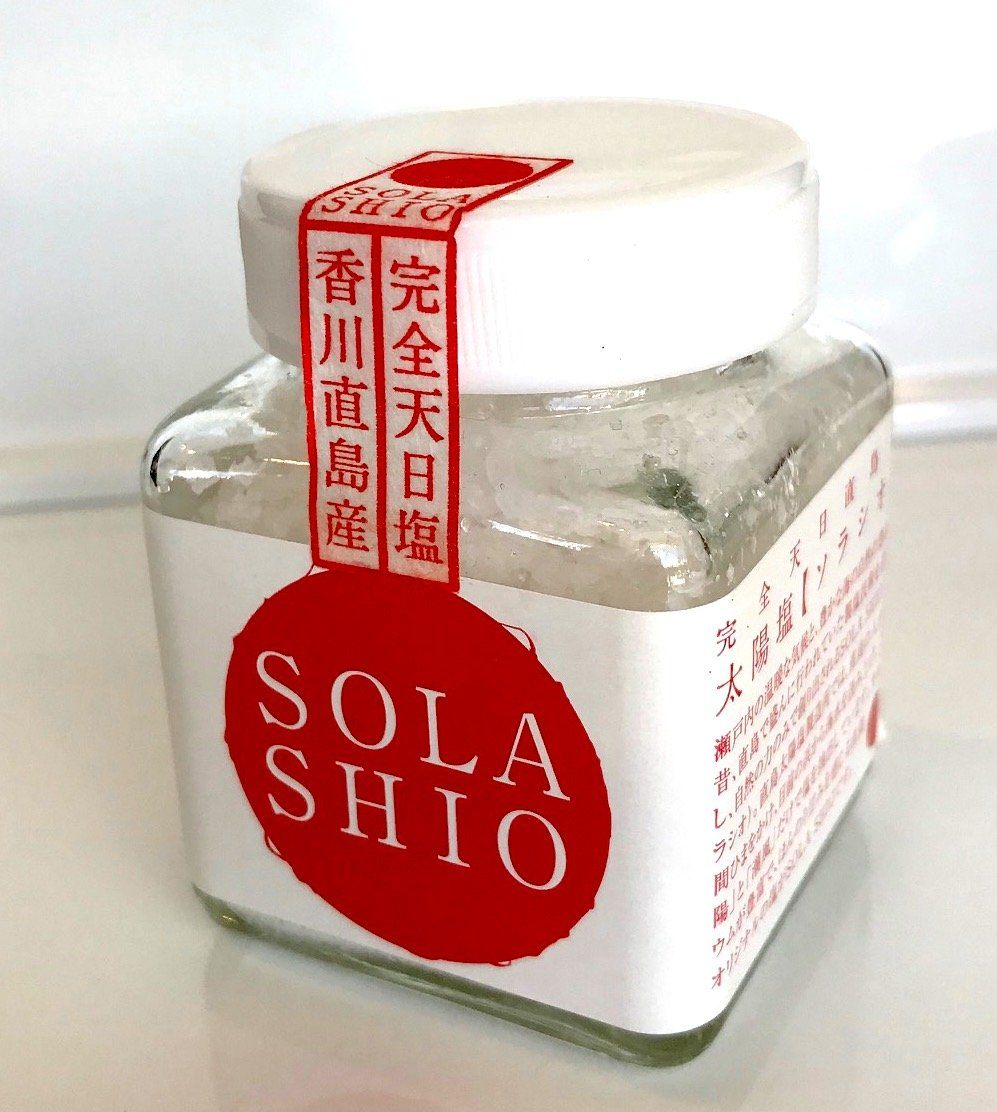 Shola, Sola Shio, Japanese Finishing Sea Salt, - Placewares