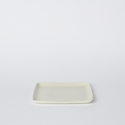 Mud Australia, Square Medium Platter, Milk- Placewares