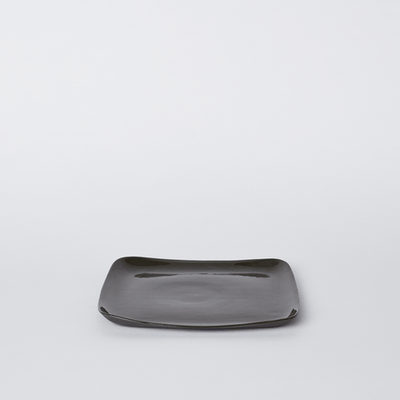 Mud Australia, Square Medium Platter, Slate- Placewares