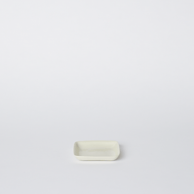Mud Australia, Square Small Platter, Milk- Placewares