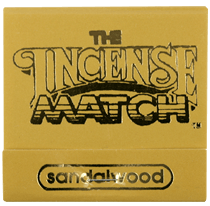The Incense Match, Incense Matches, assorted scents, Sandalwood- Placewares