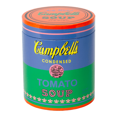 Chronicle Books, Andy Warhol Soup Can Green 200-Piece Puzzle, - Placewares