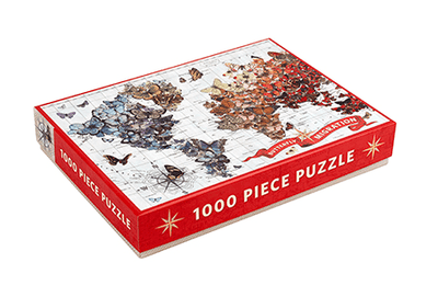 Chronicle Books, Butterfly Migration 1000 Piece Puzzle, - Placewares