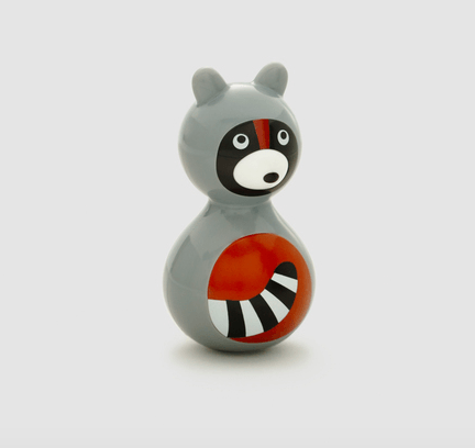 Kid O, Wobble Toy Raccoon, - Placewares