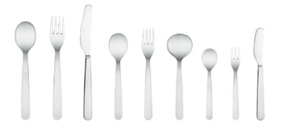Common, Common Stainless Steel Flatware, - Placewares