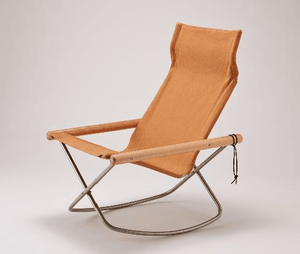 Nychair X, NychairX Canvas Rocking Chair, Camel- Placewares