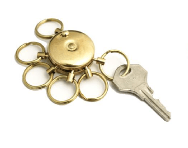 A&F, Brass Octopus Key Holder, Brass- Placewares