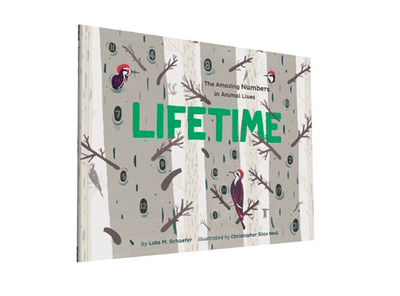 Chronicle Books, Lifetime, The Amazing Numbers in Animal Lives, - Placewares
