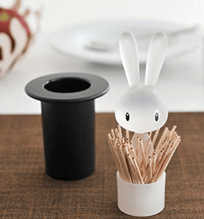 Alessi, Magic Bunny Toothpick Holder, - Placewares