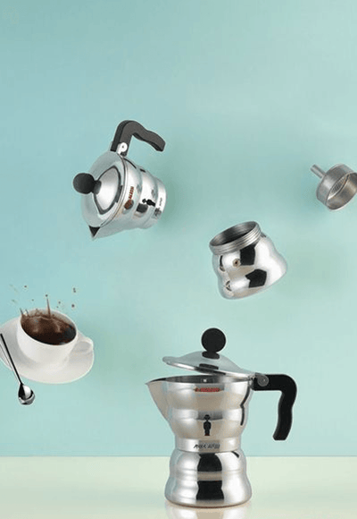 Alessi, Moka Alessi Espresso Coffee Maker - multiple sizes, - Placewares