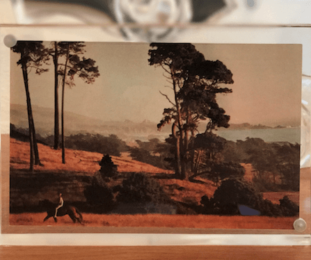 Vintage @ Placewares, Vintage The Sea Ranch Postcard, 1960s - In Italian Magnetic Frame, - Placewares