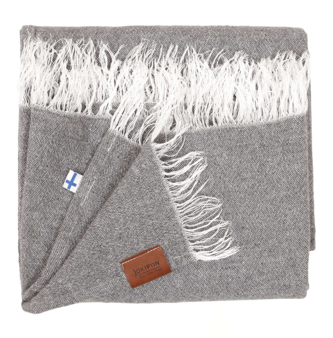 Jokipiin, Finnish Wool/Linen Throw, - Placewares