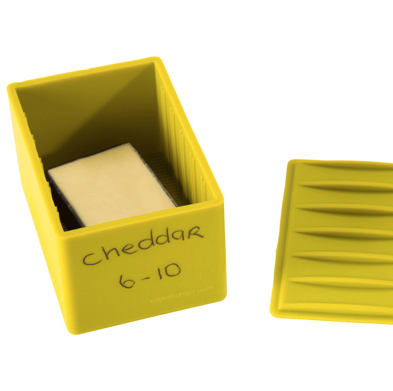 Capabunga, Cheese Vault, White- Placewares