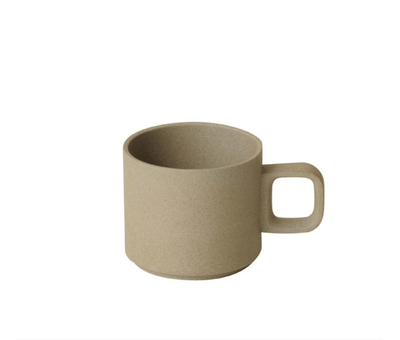 Hasami Porcelain, Mug  Cup, 11 oz - Natural, Natural Tan- Placewares