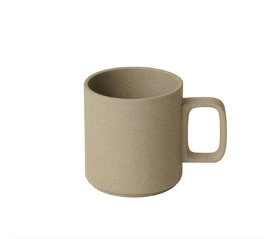 Hasami Porcelain, Mug Cup, 13 oz - Natural, Natural Tan- Placewares