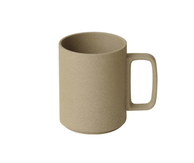 Hasami Porcelain, Mug Cup, 15 oz - Natural, Natural Tan- Placewares