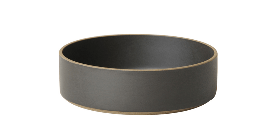 Hasami Porcelain, Bowl, Large - Black, - Placewares