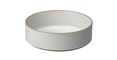 Hasami Porcelain, Bowl, Large - Gloss Gray, Gloss Gray- Placewares