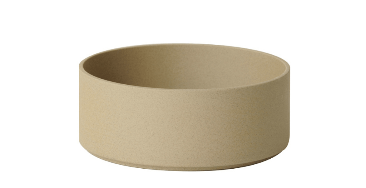 Hasami Porcelain, Bowl-Tall, Medium - Natural, Natural Tan- Placewares