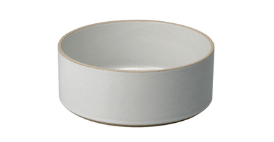 Hasami Porcelain, Bowl-Tall, Medium - Gloss Grey, Gloss Gray- Placewares