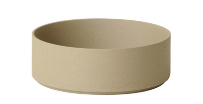 Hasami Porcelain, Bowl-Tall, Large - Natural, Natural Tan- Placewares