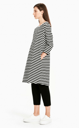 Marimekko, Aretta Dress, Black and White, - Placewares