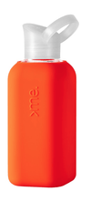 Squireme, Squireme - Glass Bottle with Silicone Sleeve, Orange- Placewares