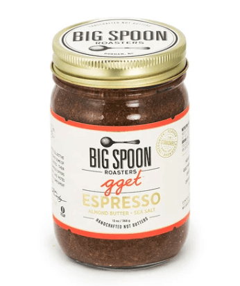 Big Spoon Roasters, Go Get 'Em Tiger Espresso Almond Butter with Sea Salt, - Placewares