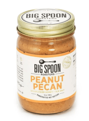Big Spoon Roasters, Peanut Pecan Butter with Wildflower Honey & Sea Salt, - Placewares
