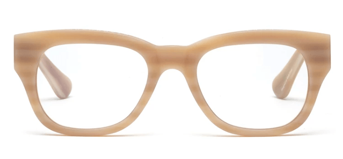 Caddis, Miklos Reading Glasses - Matte Bone, Bone / 1.00- Placewares