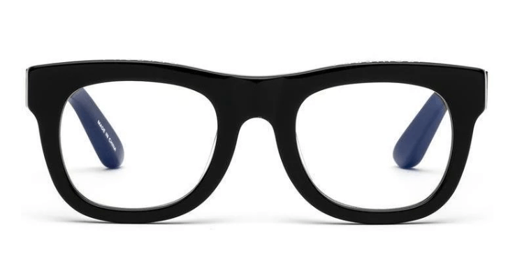 Caddis, D28 Reading Glasses - Black, Glossy Black / 1.00- Placewares