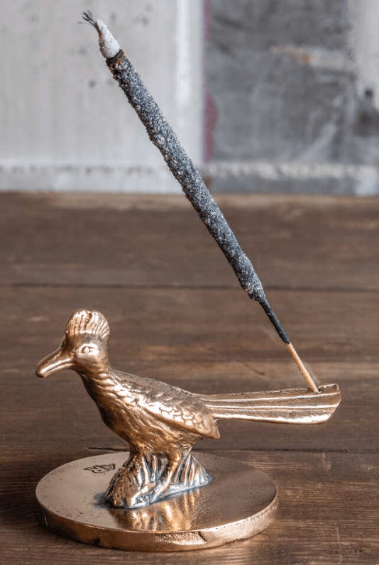 ALL ROADS, All Roads Roadrunner Incense Burner, - Placewares