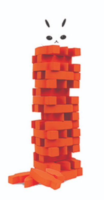 Kikkerland, Stack the Carrot Game, - Placewares