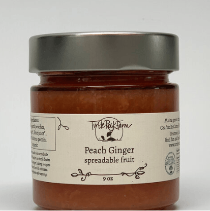 Turtle Rock Farm, Peach Ginger Spreadable Fruit, - Placewares