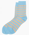 Marimekko, Raitsu Socks Light Blue & Beige, 37-39 / Light Blue & Light Beige- Placewares