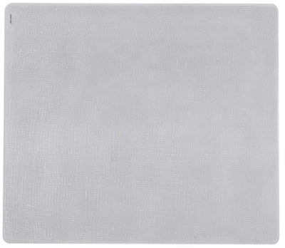Modern-Twist, Plastic-Free Placemat: Linen - multiple colors, Silver- Placewares