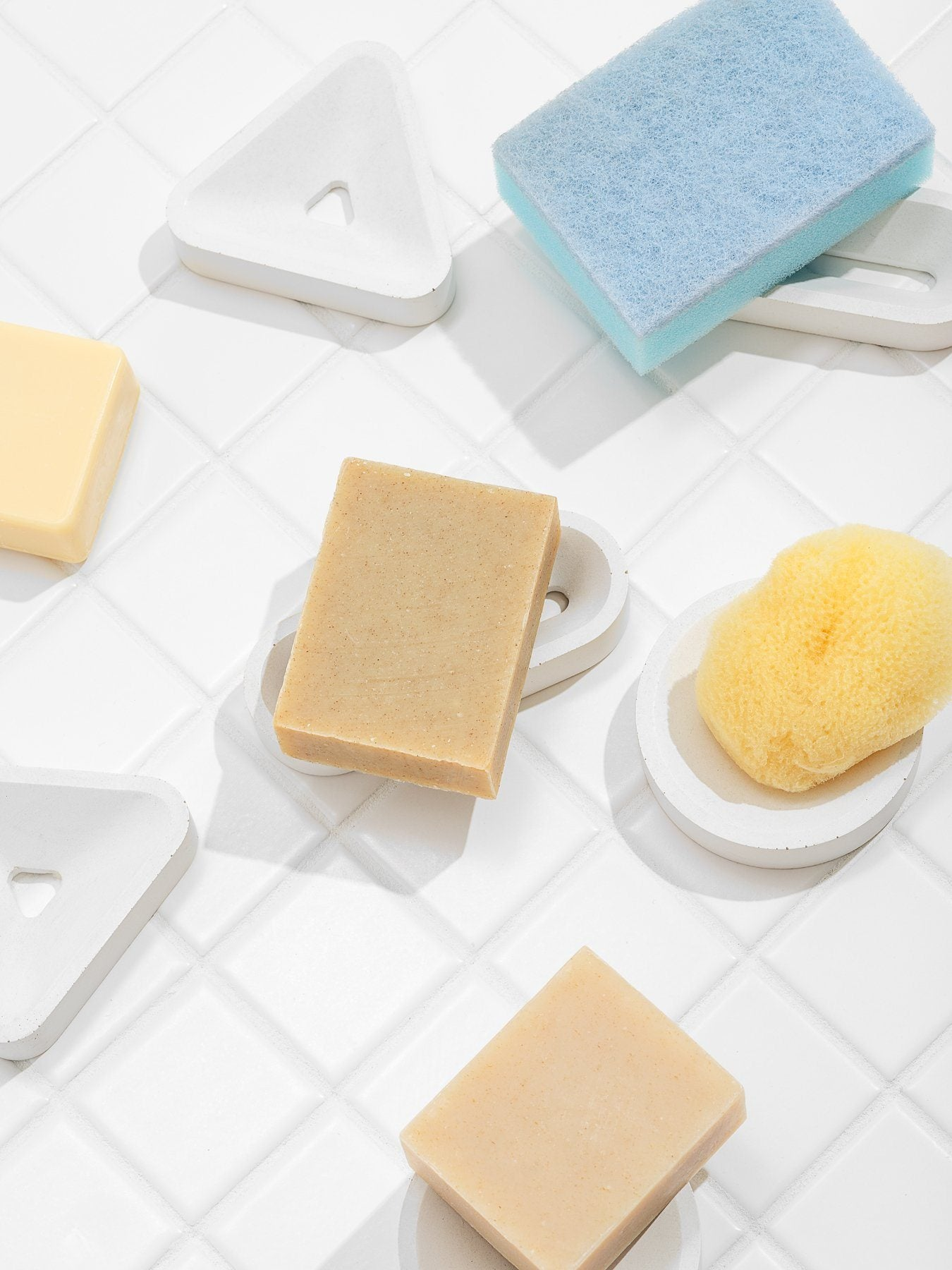 Fruitsuper, Soap + Sponge Stands, - Placewares