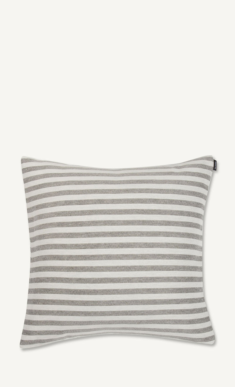 Marimekko, Tasaraita Cushion Cover, Ecru/Grey- Placewares