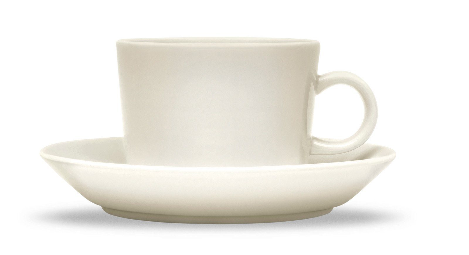 Iittala, Teema Teacup and Saucer, assorted sizes - sold separately, Teacup - White- Placewares