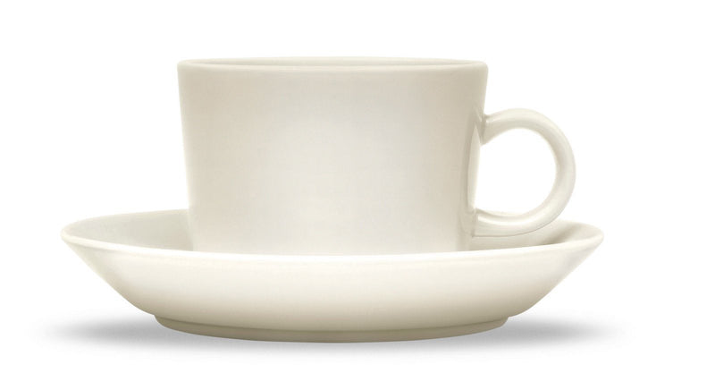 Iittala, Teema Teacup and Saucer, assorted sizes, Teacup - White- Placewares