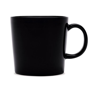 Iittala, Teema Mug, 10 oz. - multiple colors, Black- Placewares