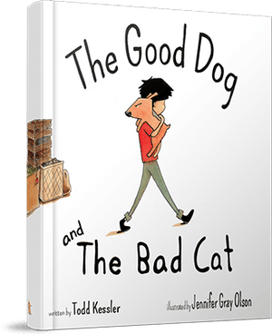 Coral Stone Press, The Good Dog and The Bad Cat Book, - Placewares