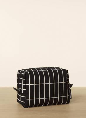 Marimekko, Verso Tiiliskivi Toiletry Bag, Black/White- Placewares