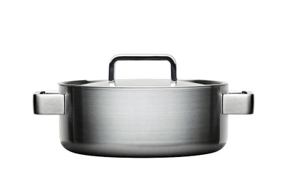 Iittala, Tools Casserole with Lid, 3 Quarts, Brushed Stainless Steel- Placewares