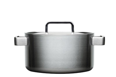 Iittala, Tools Casserole with Lid, 4.25 Quarts, Brushed Stainless Steel- Placewares
