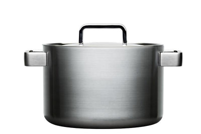 Iittala, Tools Casserole with Lid, 5.25 Quart, Brushed Stainless Steel- Placewares
